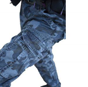 Muške army maskirne pantalone 8103-85 dzep na nogavici