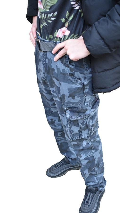 Muške army maskirne pantalone 8103-85