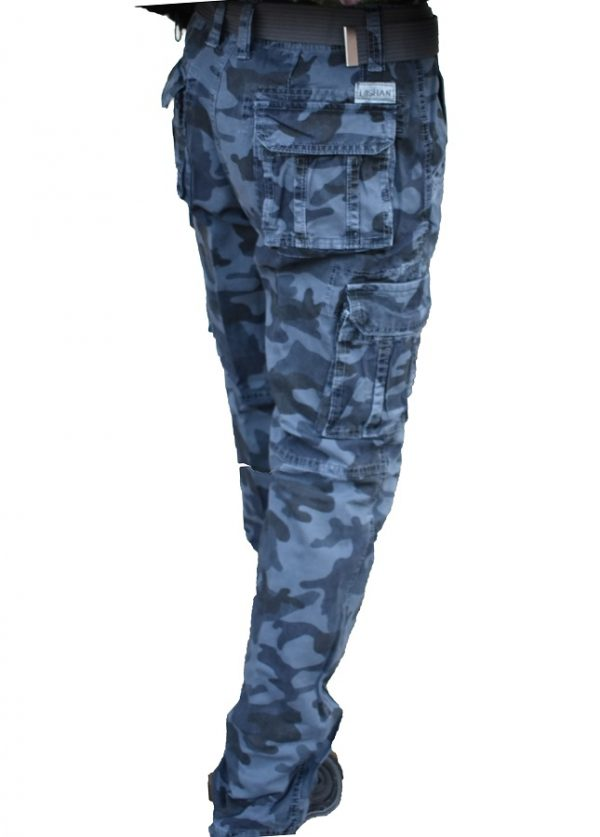 Muške army maskirne pantalone 8103-85 otpozadi
