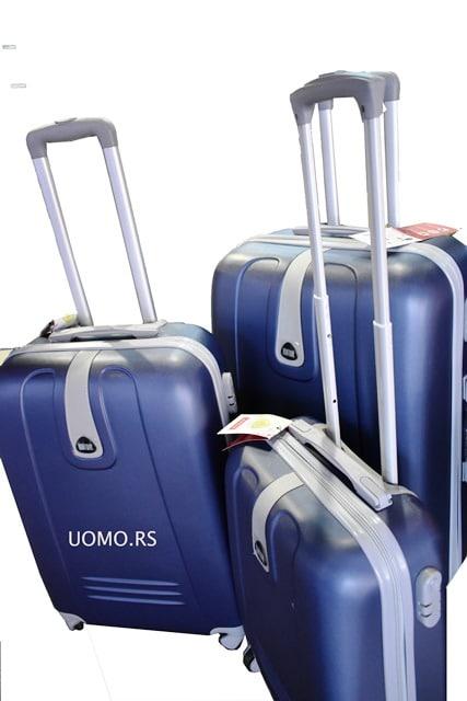 Kofer za putovanje ABS Teget Bontour