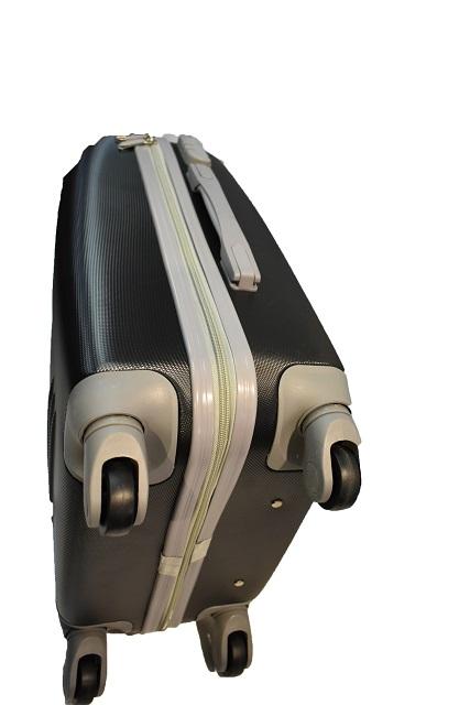 Kofer plasticni crni Ormi