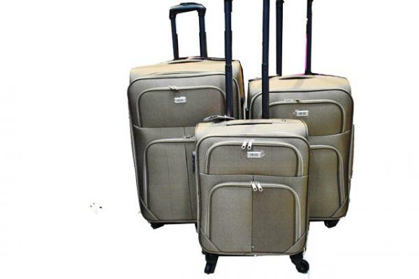 Set kofera za putovanje 3/1 BONTOUR GOLD