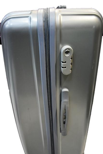 Kofer za putovanje plasticni  sivi RIBB