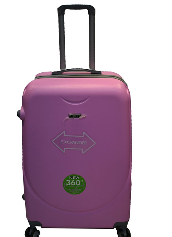 Plasticni kofer Rehaino liht pink