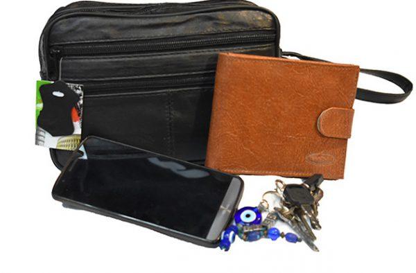 Muska kozna torbica za ruku model  765  9