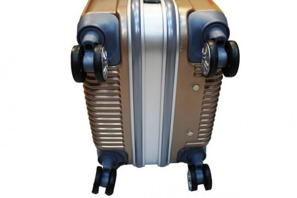 Mali kofer aluminijum-PVC kapucino
