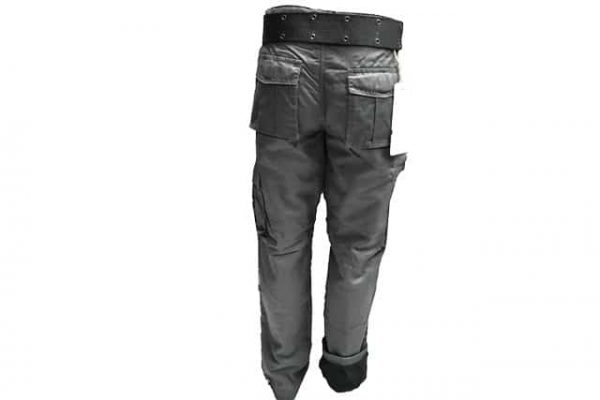 Termo pantalone u tamno sivoj boji