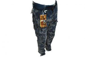 Muske army maskirno sive pantalone model 8103-54