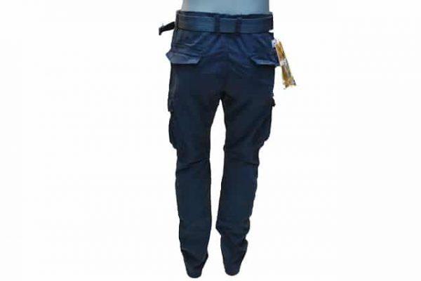 Muske army pantalone u teget boji model 8102-102
