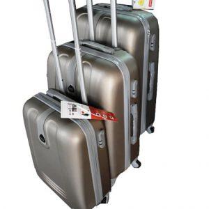 Kofer za putovanje Bontour -kapucino