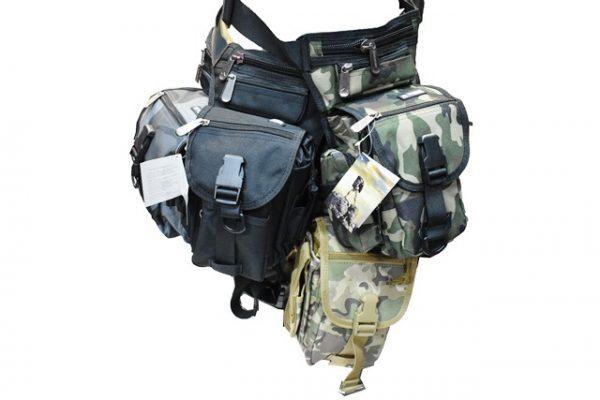 Skidajuci kais koji omogucava fiksiranje same torbice za nogu