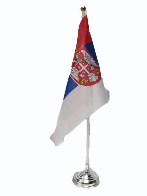 Srpska zastavica sa postoljem