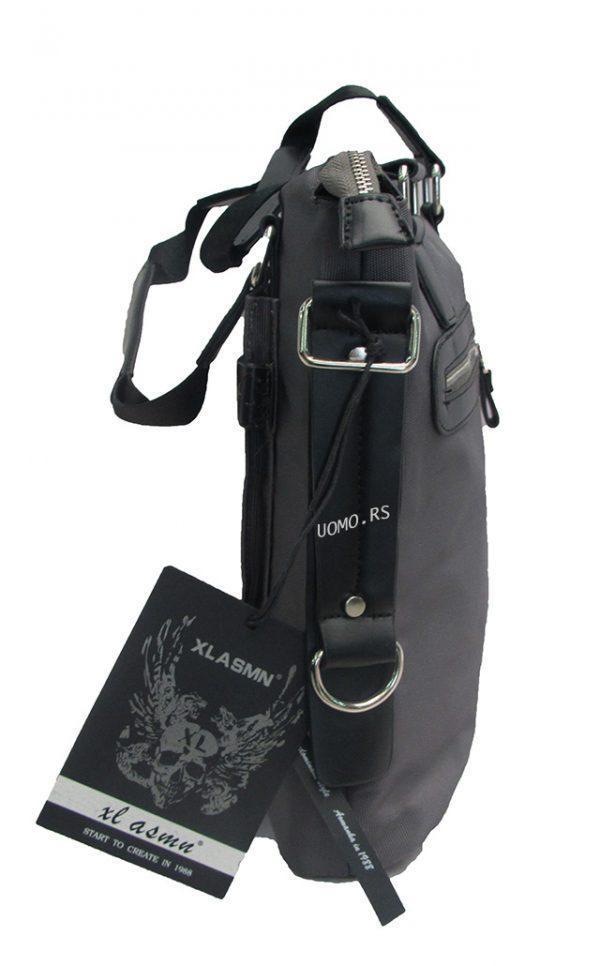 Muska torba -XL 10189 siva-19