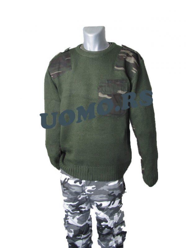 MILITARY ZELENI DZEMPER ARMY T-1-2