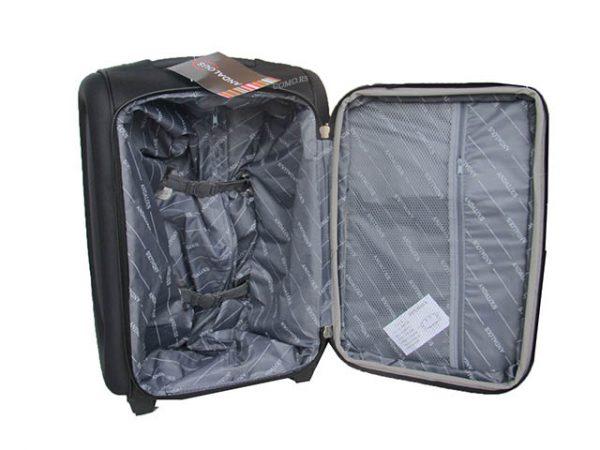 Kofer ROYAL 3/1 set CRNI