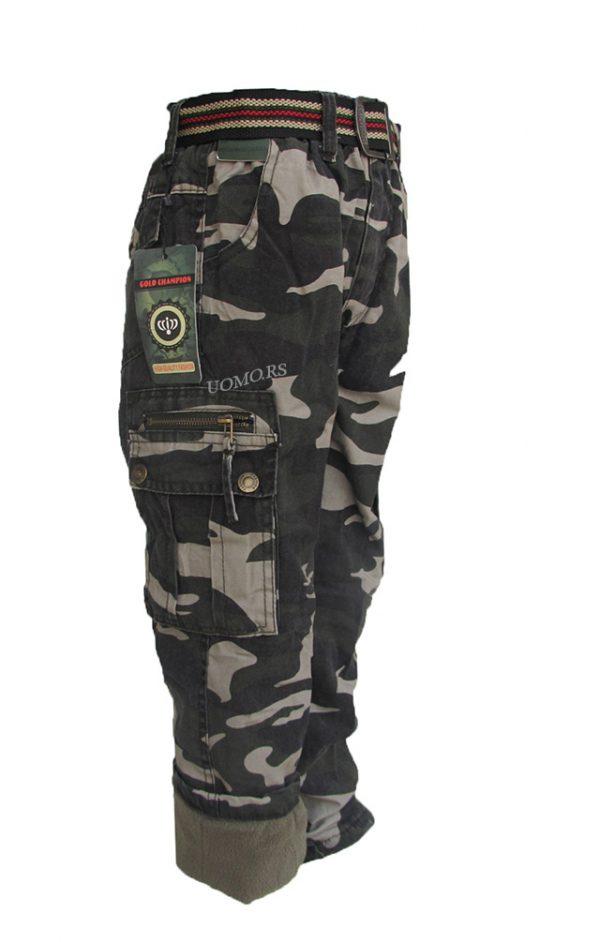 ARMY  SMB Decije pantalone sa termo postavom