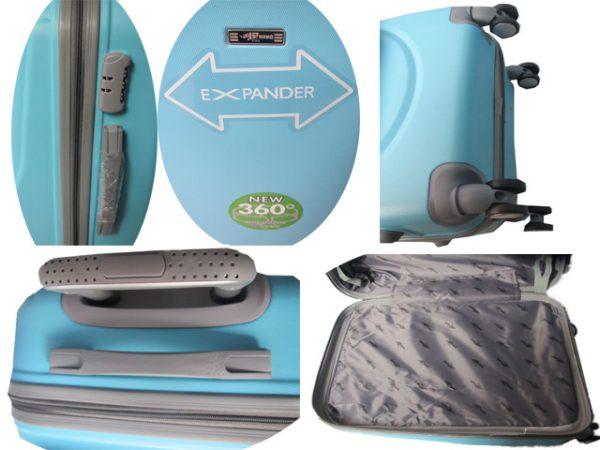 Plasticni kofer model LightBlue