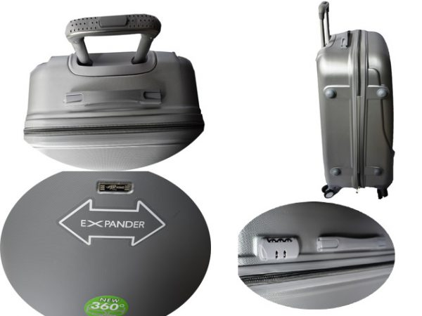 Palsticni kofer sivi Rehino