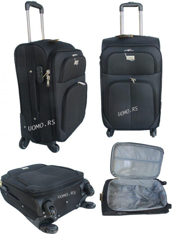 Kofer za putovanje  ORMI 3/1 CRNI