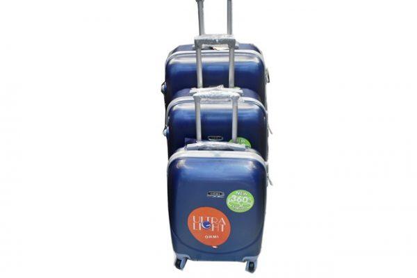 Set plasticnih kofera 3/1 za putovanje