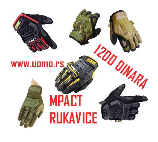 Army MPACT mechanix multifunkcionalne rukavice