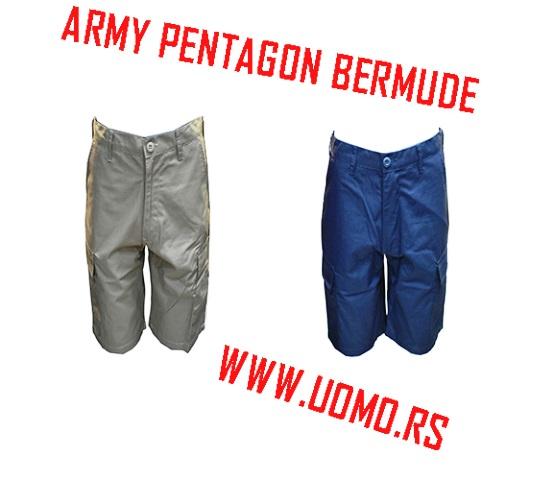 Muske army bermude model PENTAGON