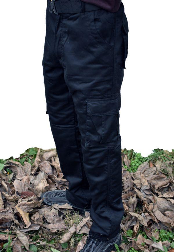 termo zimske pantalone crne lošan