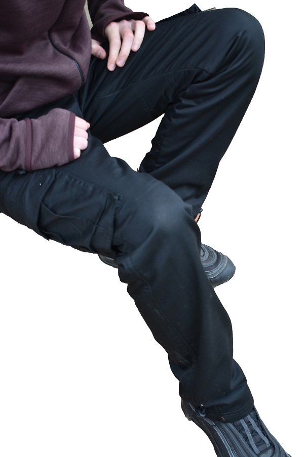 термо панталоне црне лосхан