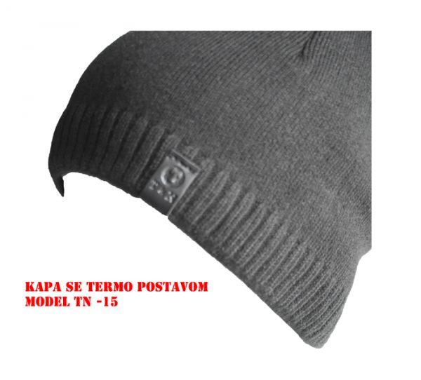 Muška zimska kapa sa termo postavom TN-15