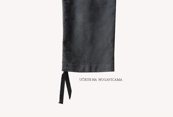 kargo pantalone mogucnost regulisanja duzine uckurom