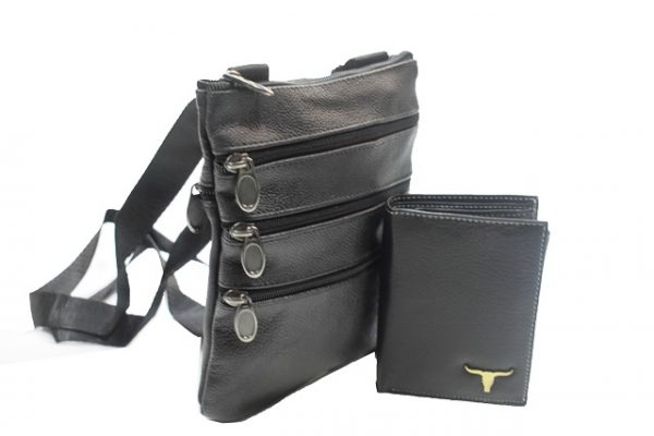 Muska kozna torbica PRACTICAL