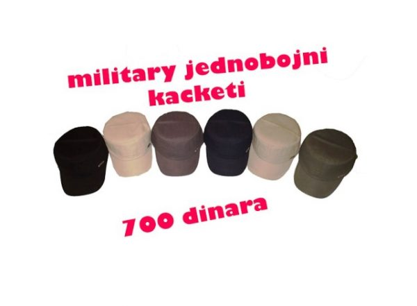 Military jednobojni kacketi T&N FASHION