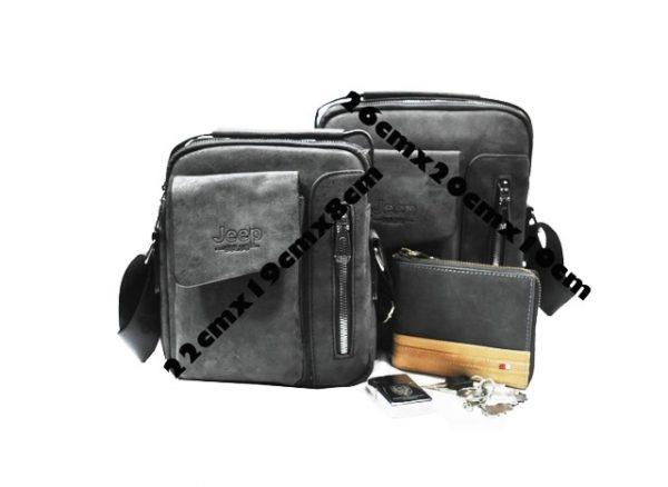 Muska modna torba JEEP 2u1
