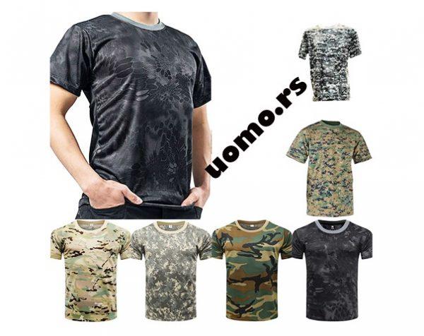 Military kamuflazne majice
