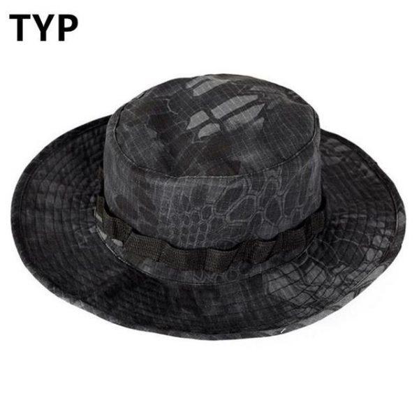 Army safari šeširi boja black piton