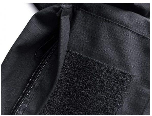 taktička bluza kratak rukav crna