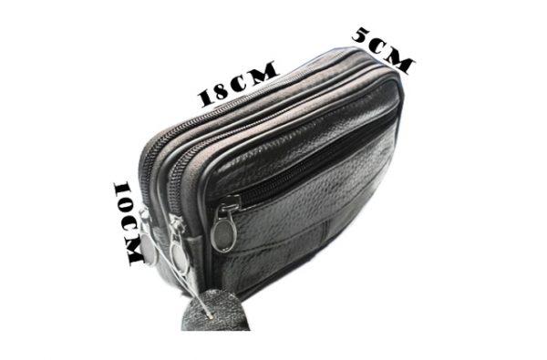 Muska kozna torbica za kais