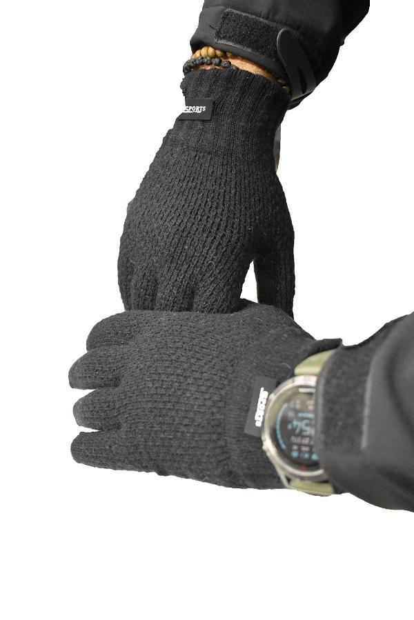 vunene zimske muške rukavice model sport