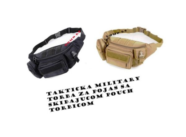 Military takticka torba za pojas POUCH