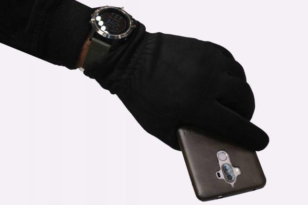 Rukavice artificial leather