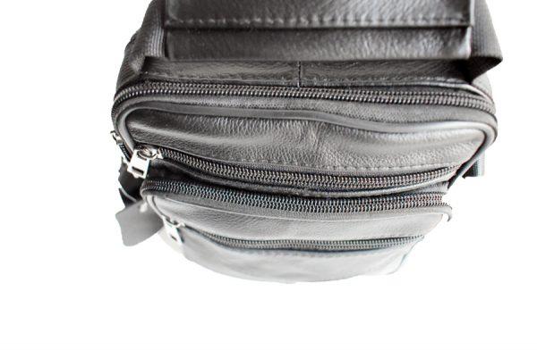 muška kožna torba 530 pogled odozgo