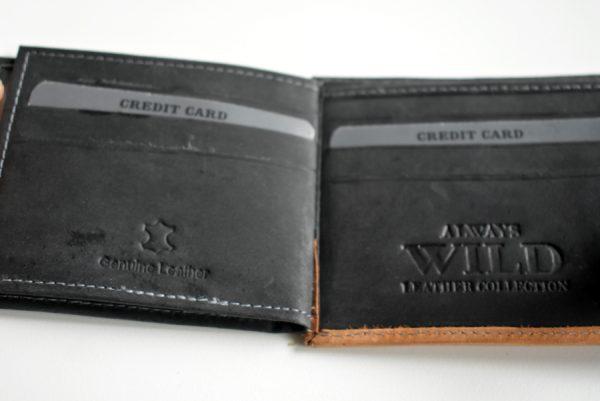 Kozni novčanik Wild -S koža