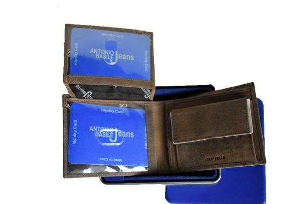 muški kožni novčanik braon -kartice,novac