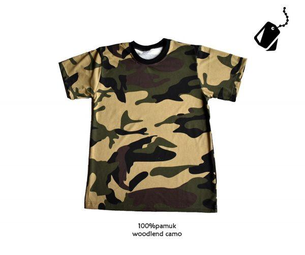 Military maskirne majice woodland sara