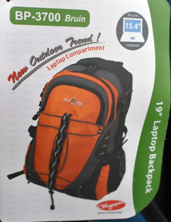 Outdoor backpack model OLIMPIA