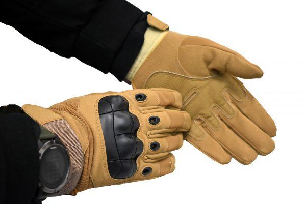 takticke rukavice airsoftt krem