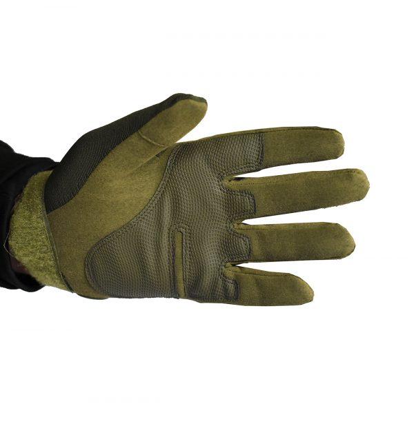 airsoft takticke rukavice zelene
