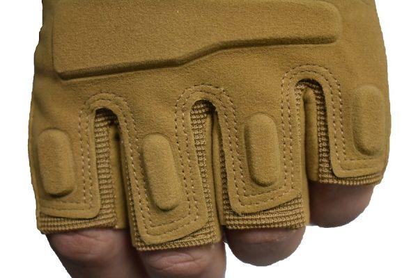takticka rukavica bez prstiju hit u krem boji