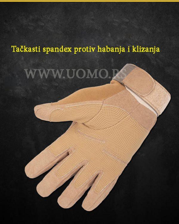 materija na dlanu rukavice protiv klizanja