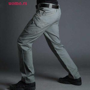 kargo armi military pantalone ix9 zelene